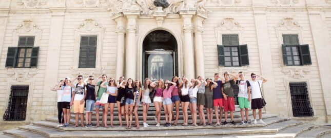 Group of our summer students