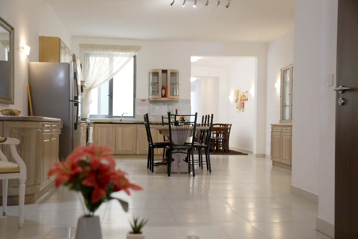 Self-catering apartments for students in Gozo