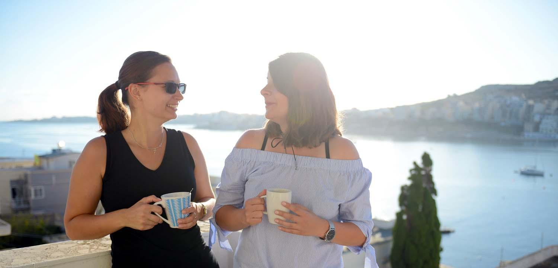 Aprender el inglés a Malta con una familia de acogida que te ayudará