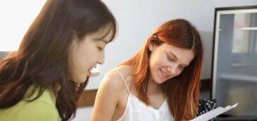 Studenti na přípravném kurzu z angličtiny