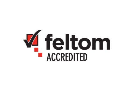Le logo de l'accréditation FELTOM BELS