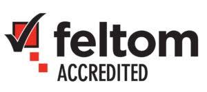Logo akredytacji FELTOM