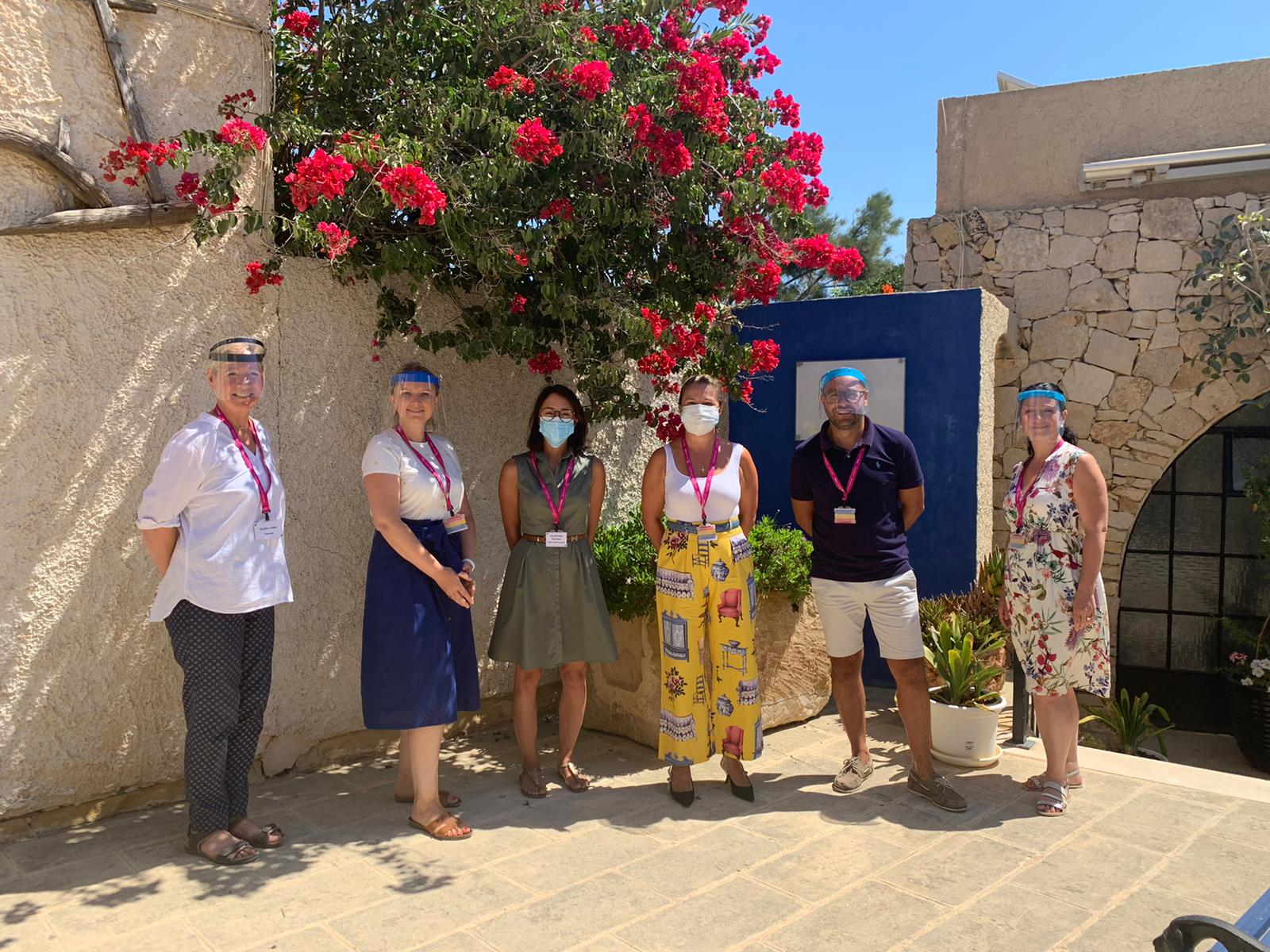 A team photo outside our BELS Gozo school
