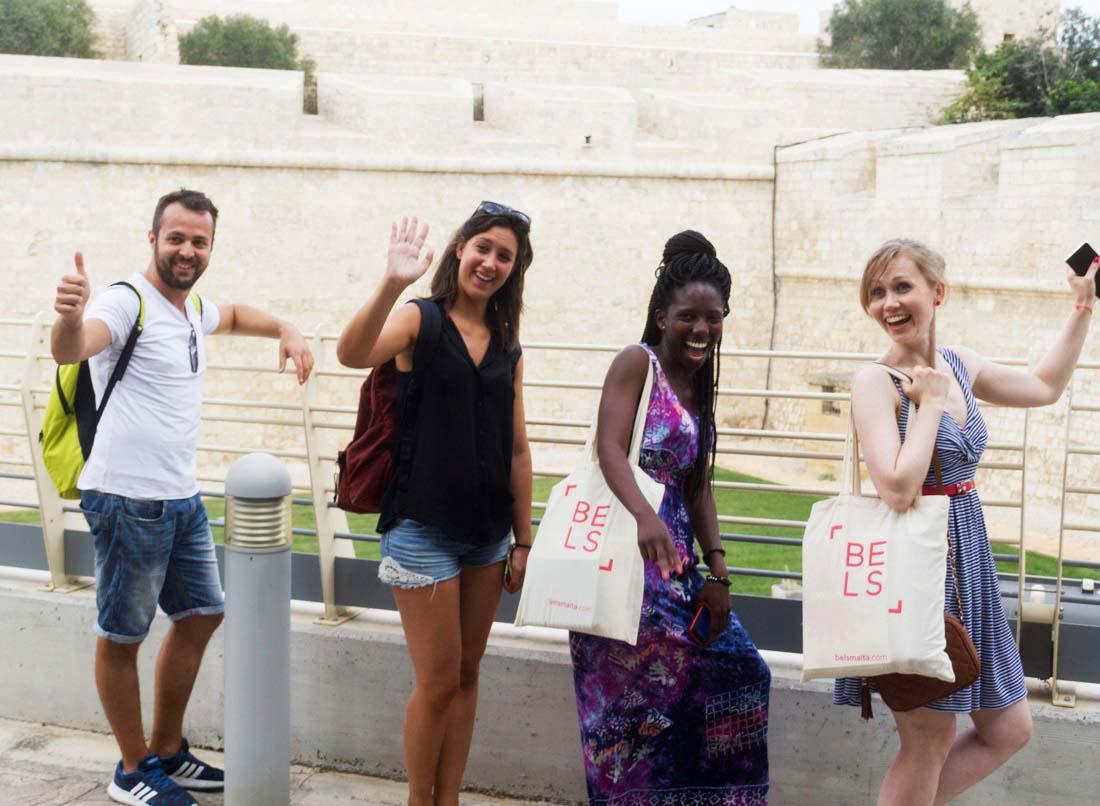 visiting Mdina with BELS