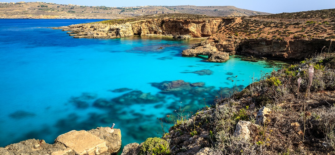 A Ilha de Comino: Local do famoso Blue Lagoon