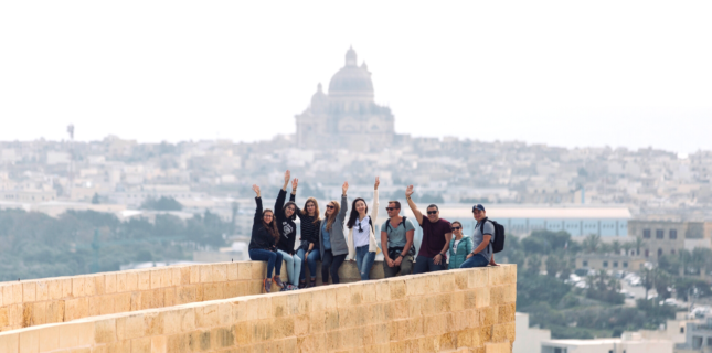 free time while studying english abroad with BELS Malta