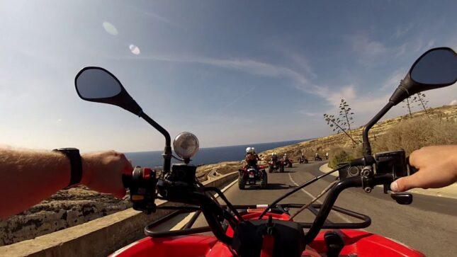naše dobrodružství a sport na Maltě