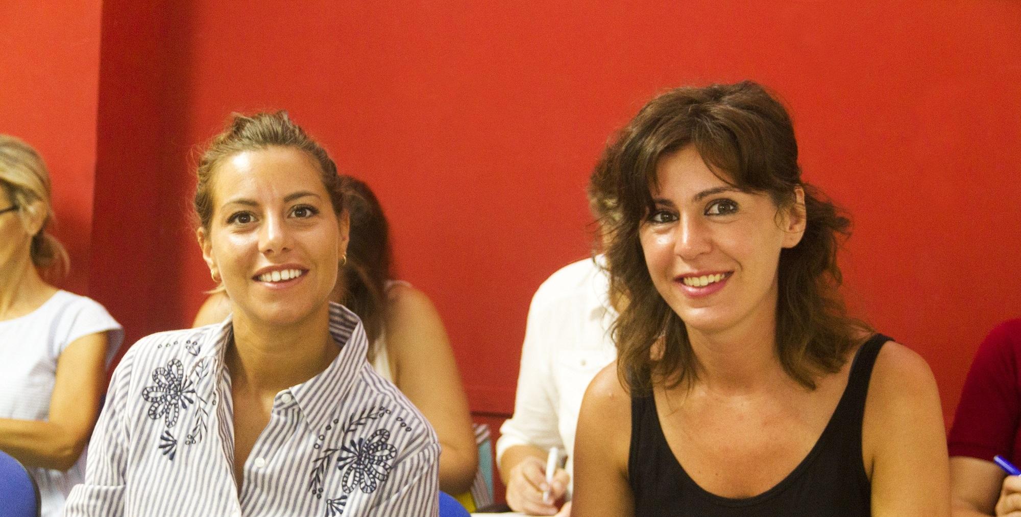 Carolina ha viaggiato verso Malta per imparare l'inglese
