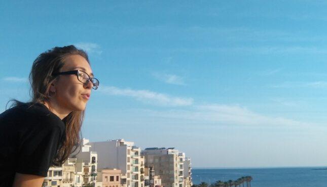 zdjęcie z mojej wycieczki uczącej się angielskiego na Malcie