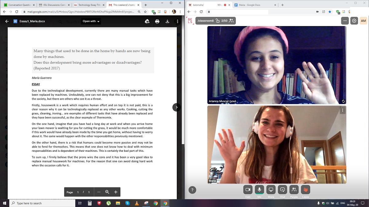 Apprendre l'anglais en ligne – BELS Malta