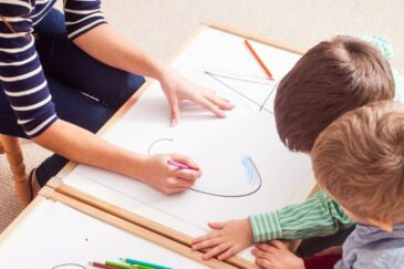 using english for childcare and support