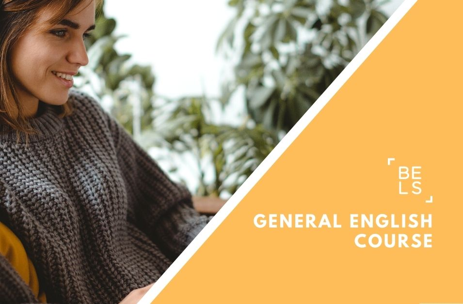 Online courses poster for General English