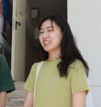 A photo of our BELS Malta student Ashley from Korea
