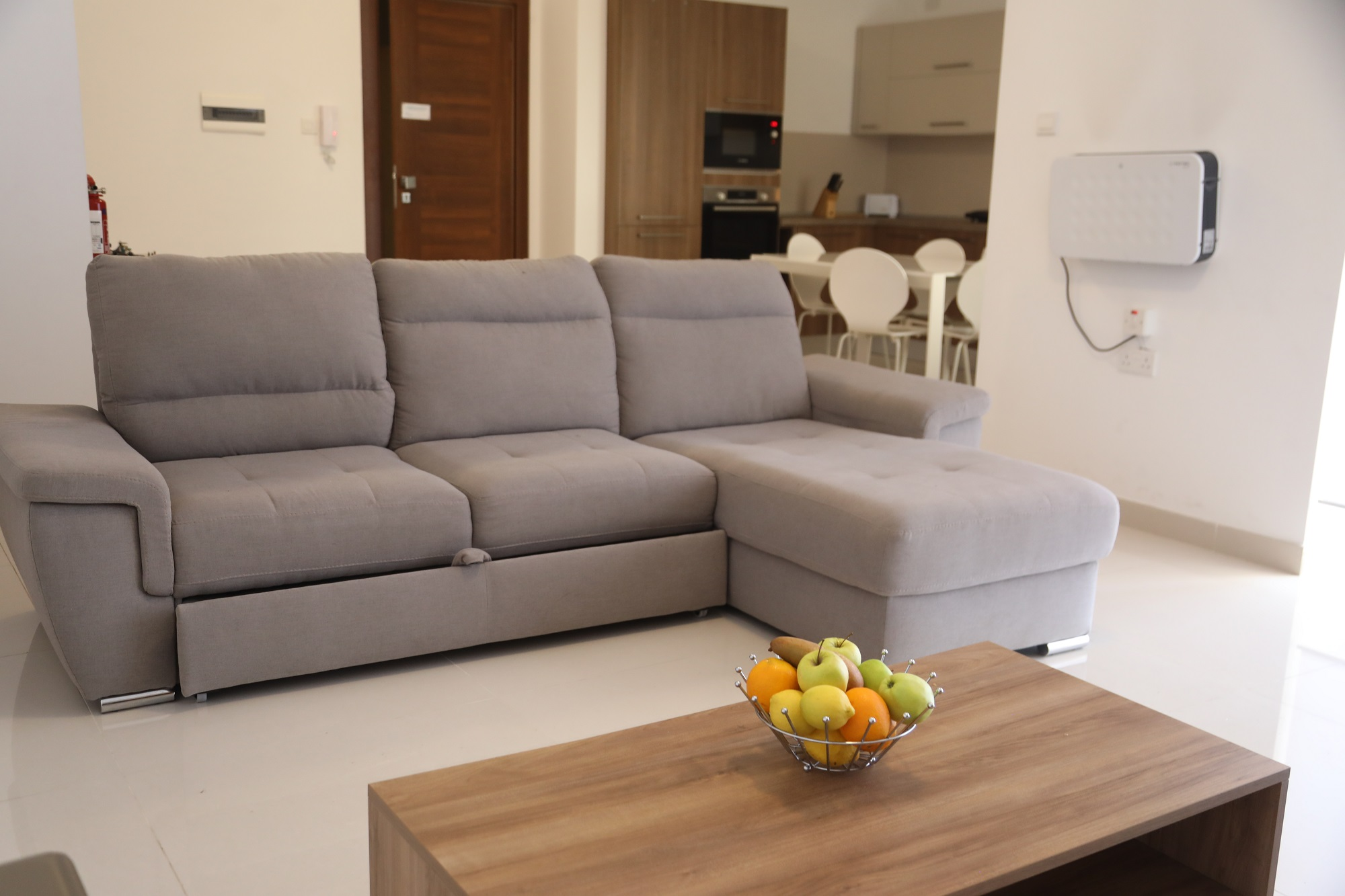 The living area at our BELS Malta superior residence