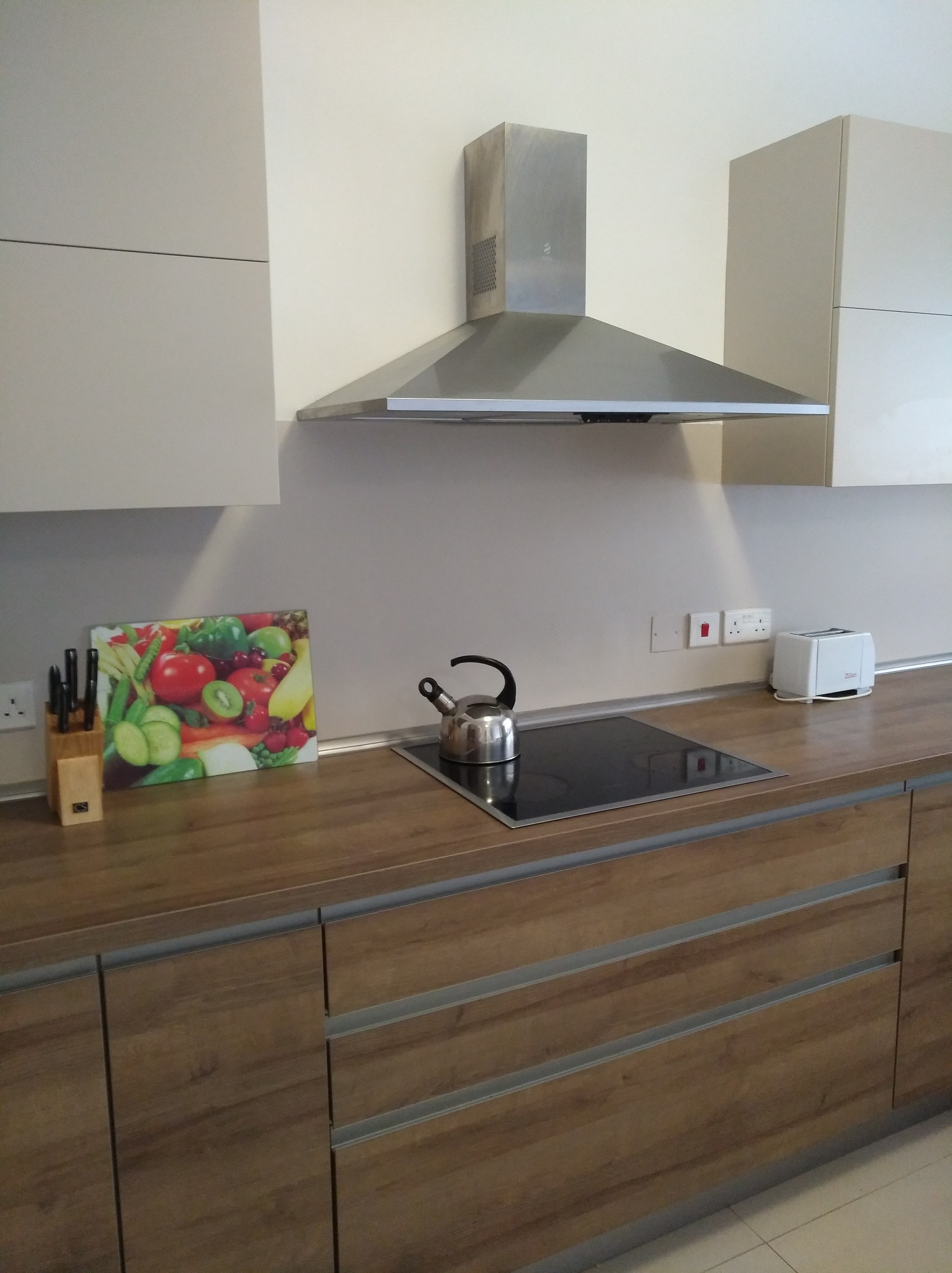 One of the kitchens at the BELS Superior Residences