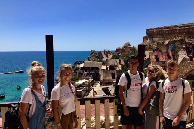 Filippo's student experience at BELS Malta