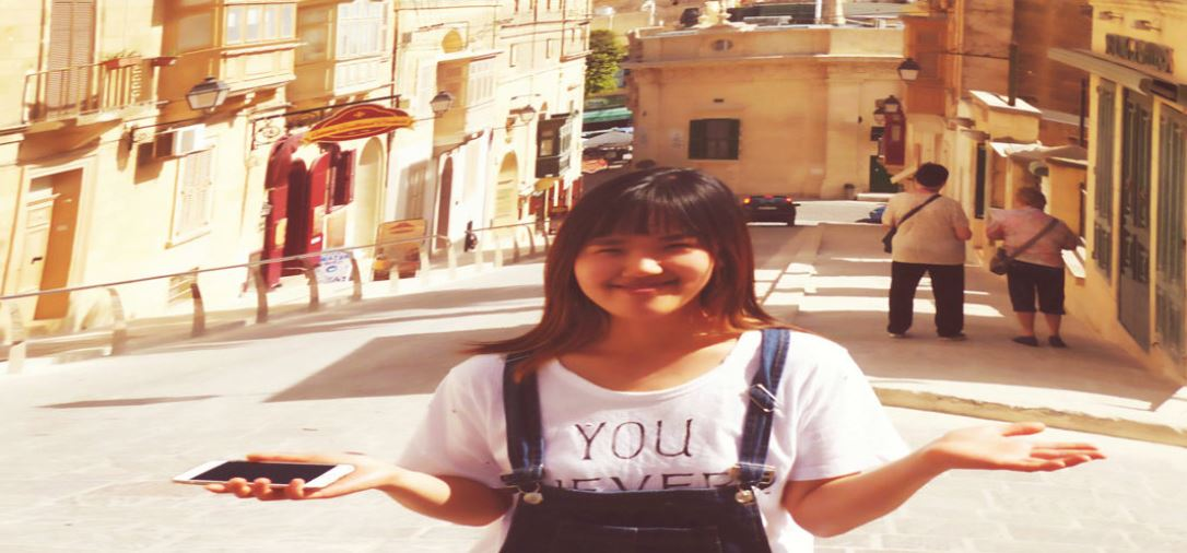 Seyoon in Victoria Gozo